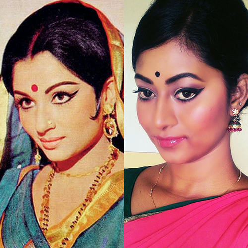 5 Best Makeup Ideas to Try With Lustrous Silk Sarees ...