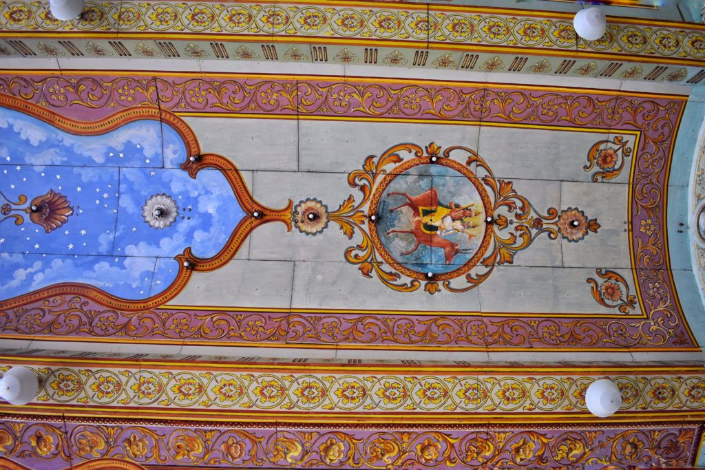 walls of mysuru palace
